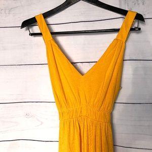 NY & Company Yellow Maxi Dress NWT - M